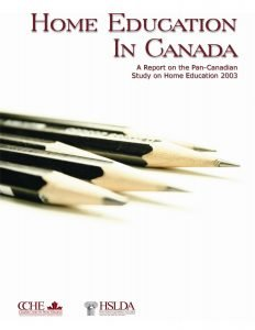 Home Education in Canada 2003