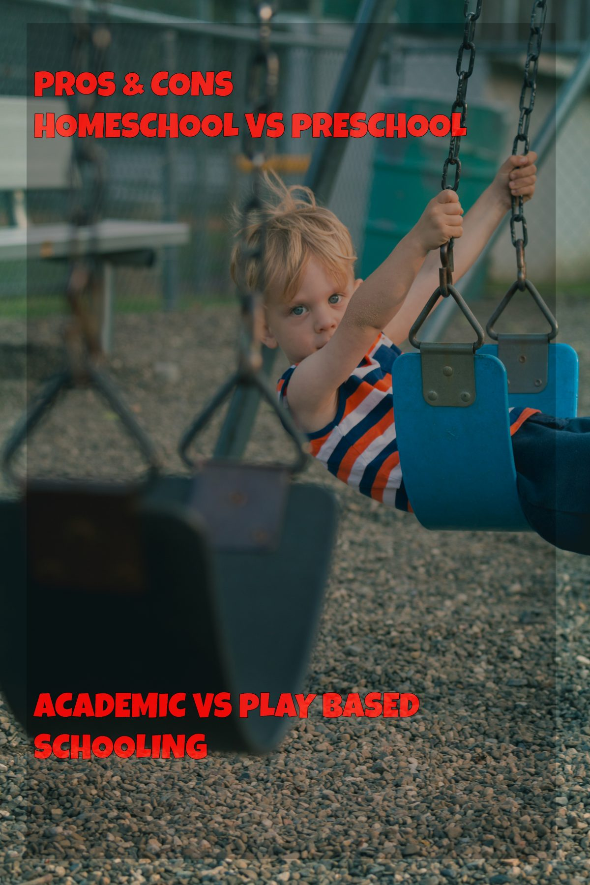 Making a Decision About Preschool: educating at home versus enrolling in public school