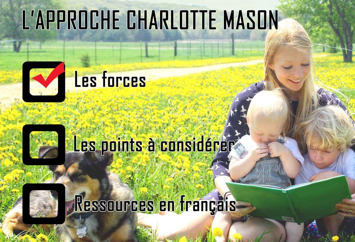 L'approche Charlotte Mason