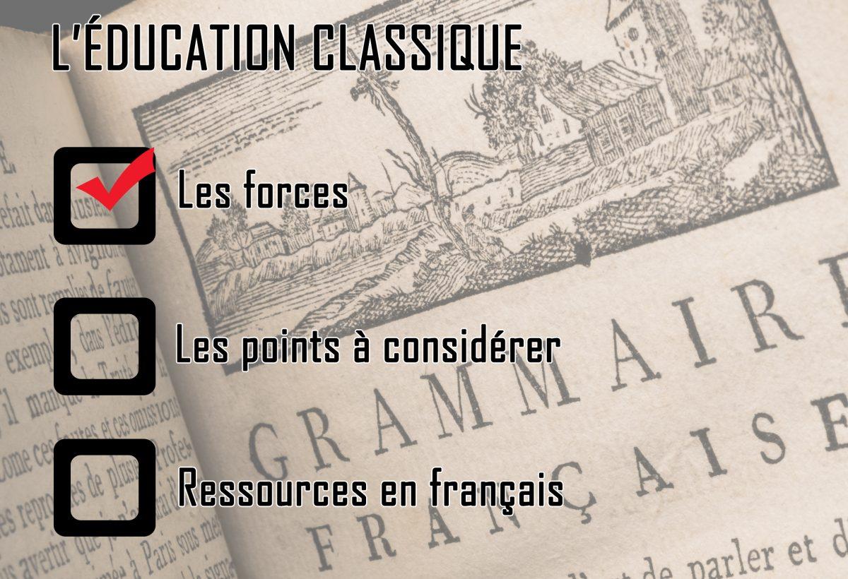 L'éducation classique