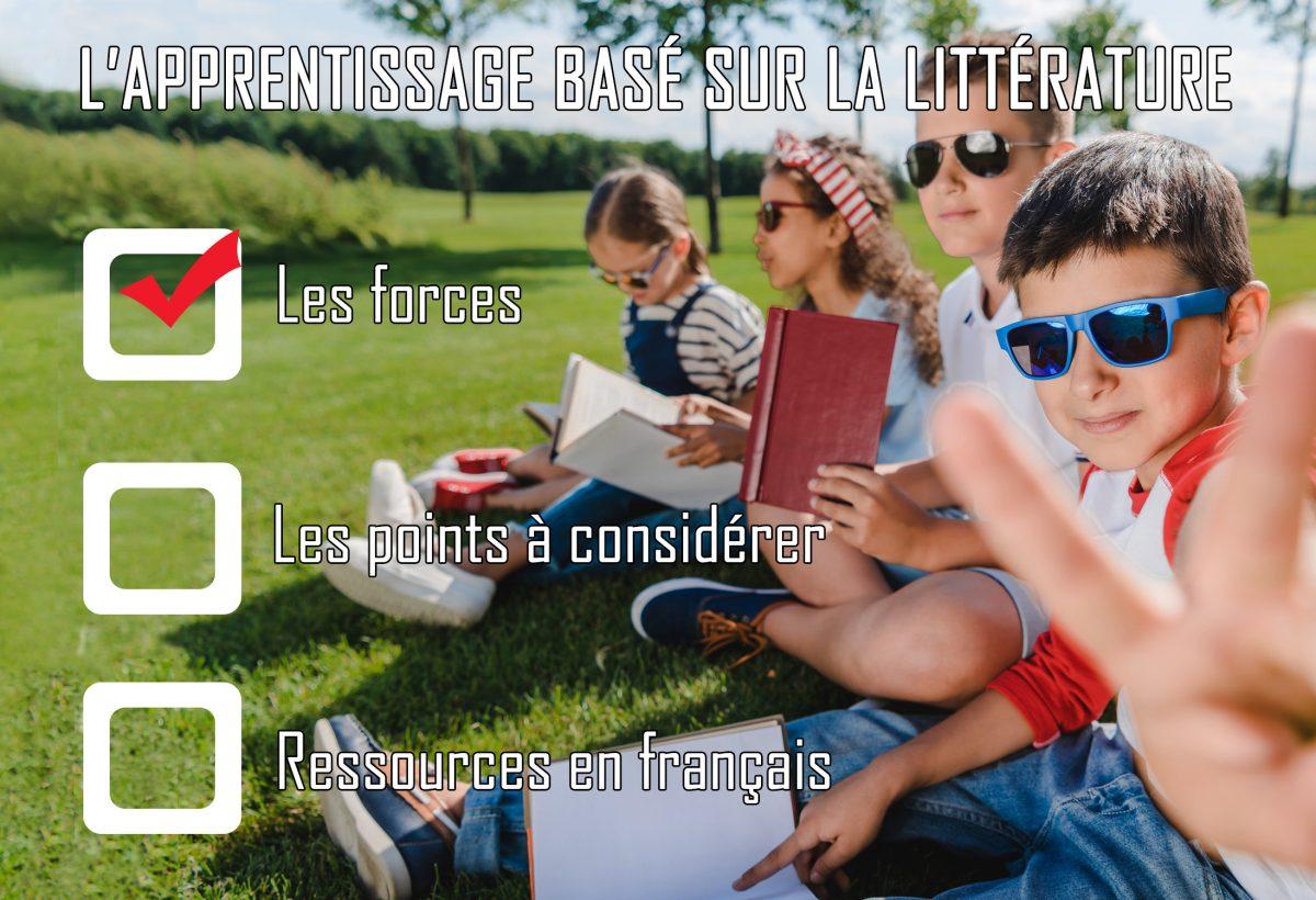 L'apprentissage basé sur la littérature