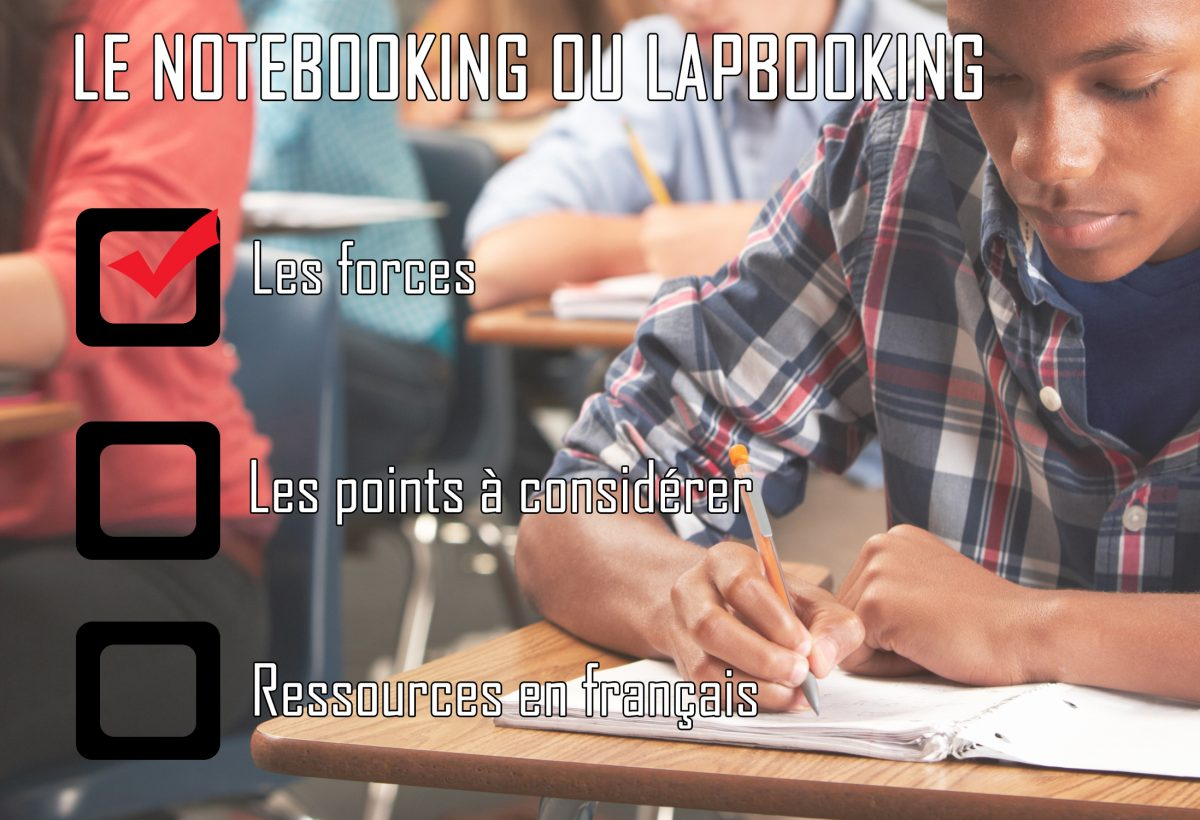 Le notebooking ou lapbooking