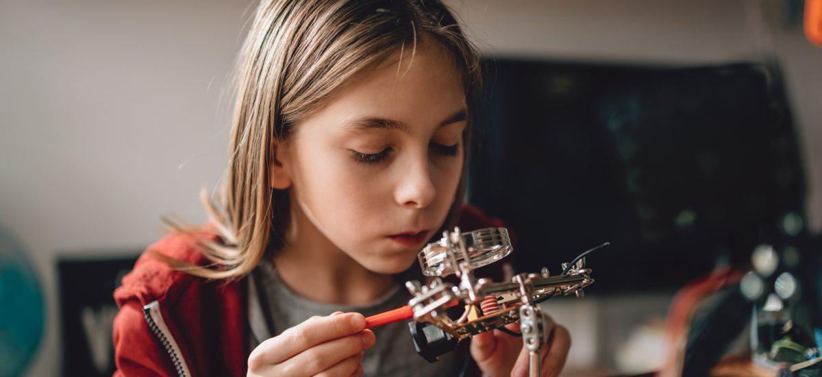 DaVinci dans la maison: Comment l'école-maison peut-elle stimuler la créativité?
